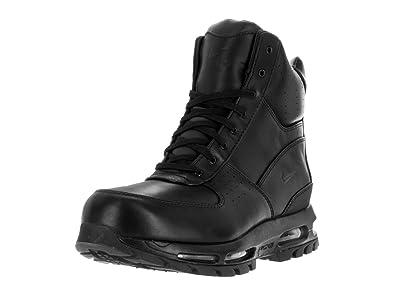 Amazon Com Nike Men S Air Max Goadome 6 Wp Black Black Boot