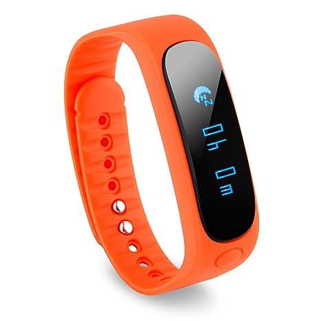 Diggro Sw19 - Smartwatch Bluetooth Pulsera Deportiva (Ip67 Impermeable, Bluetooth 4.0, Podómetro, Gimnasia Salud Sueño, para Android y Ios ...