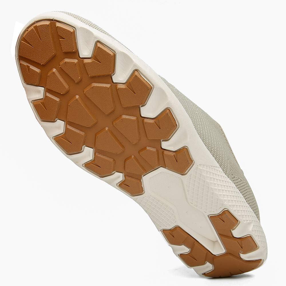LANGBAO Baskets Hommes//Ét/é Engrener Chaussures de Course Poids L/éger des Sports Gym en Marchant Aptitude Chaussure d/écontract/ée
