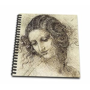3dRose db_5311_1 Leda Drawing Book, 8 by 8-Inch