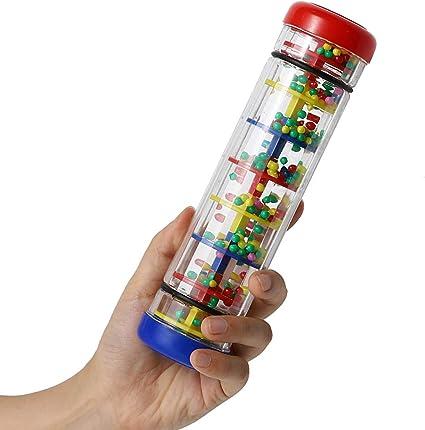 1x Colorful Child Baby Musical Music Instrument Rattle Tube Shaker Rain maker