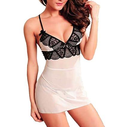 Lencería Sexy mujer tallas grandes ❤ Amlaiworld Ropa interior erotica Ropa interior del vestido del