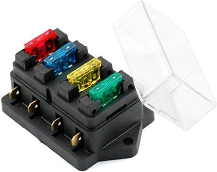 Caja de fusibles estándar ATO de 12 V/24 V para vehículo y ...