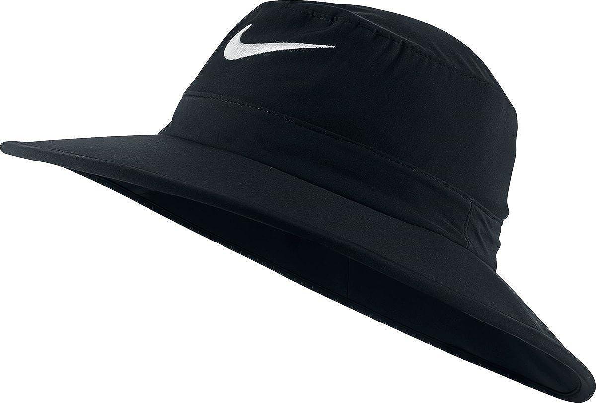 Nike Golf Sun Protect Bucket Hat (Black White c3b4a20b3b72