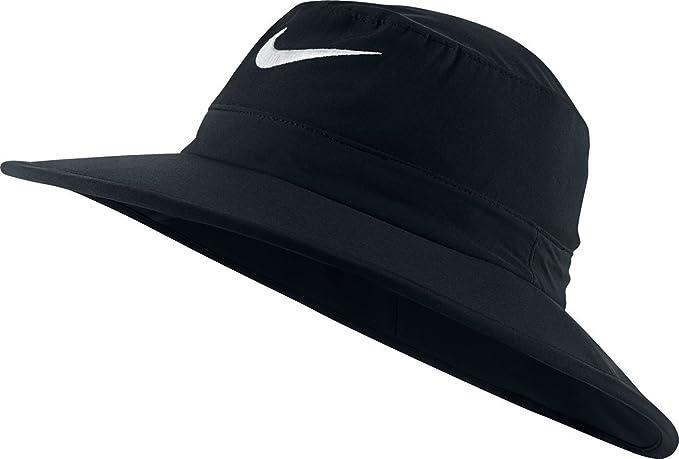8bc28fbf1aa2 Nike Golf Sun Protect Bucket Hat (Black White