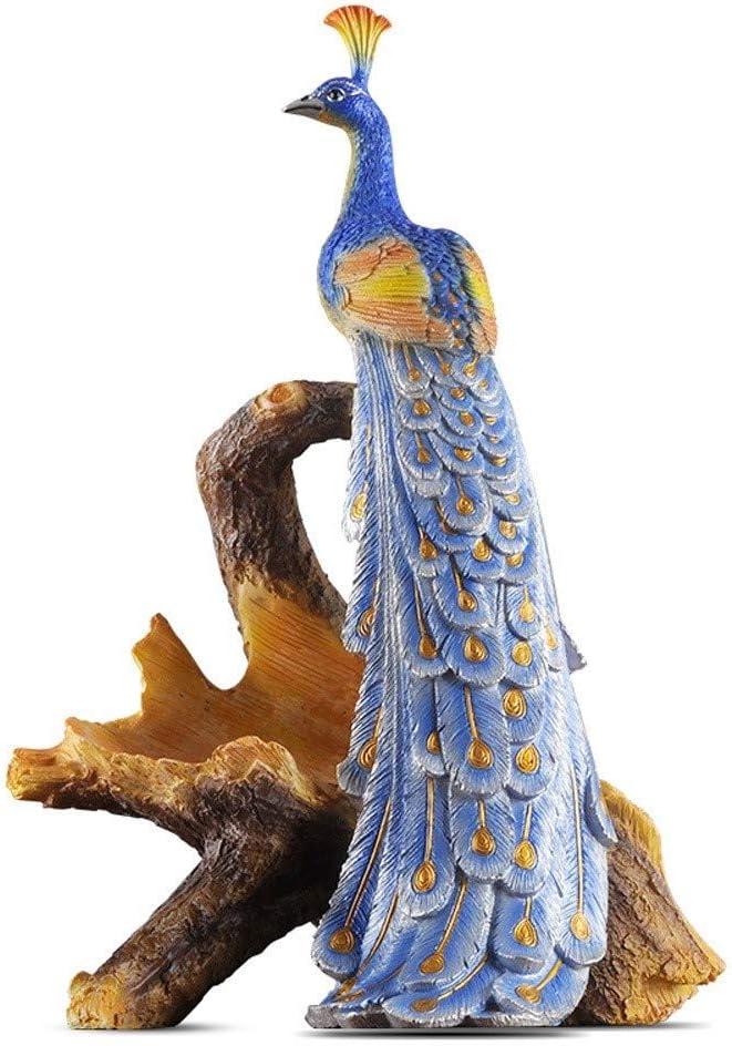 Giltern Auspicioso Europea del pavo real de la resina Retro Vino Bastidores sola botella de vino con patas soporte for botella de vino de tabla vitrina regalos del hogar del estante artesanales adorno