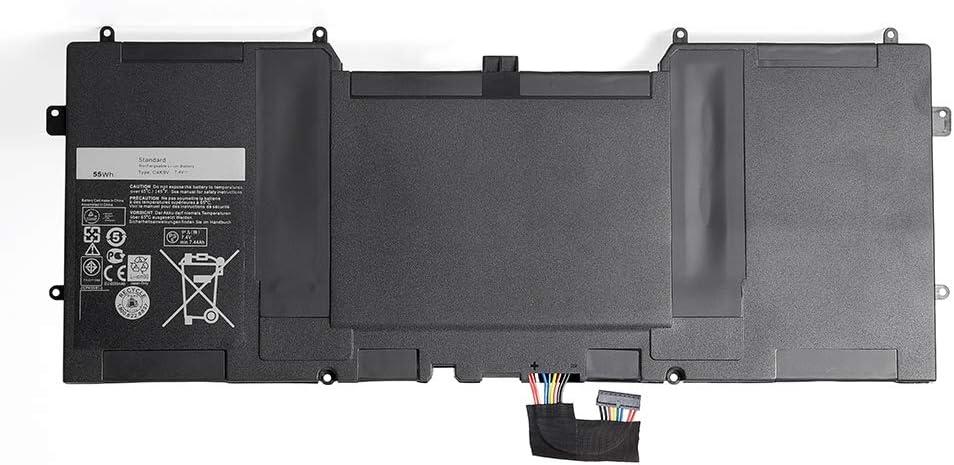 Amanda C4K9V Laptop Battery 7.4V 55Wh Replacement for Dell XPS 12 9Q33 -L221X 13 9333 Ultrabook 13 XPS13 13-L321X 13-L322X XPS L321X L322X Series 3H76R 489XN PKH18