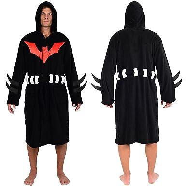 DC Comics Batman Beyond Hooded Fleece Robe (One Size)