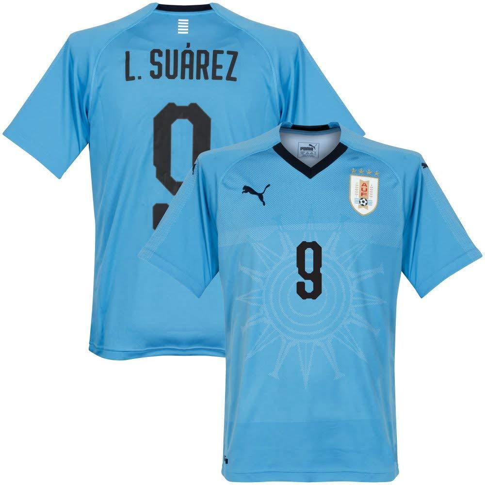Uruguay Home Trikot 2018 2019 + L.Suarez 9 - S