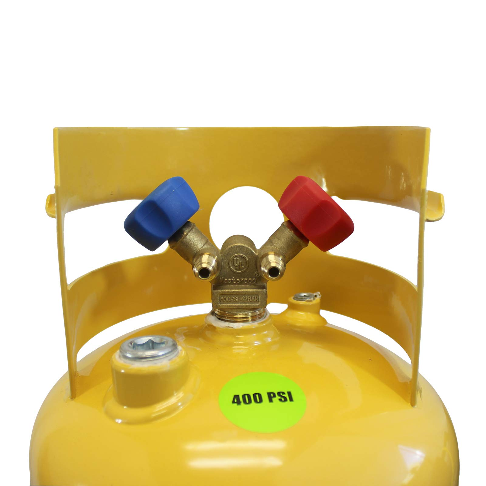 MASTERCOOL 62010 Gray/Yellow Recovery Tank by MASTERCOOL (Image #2)