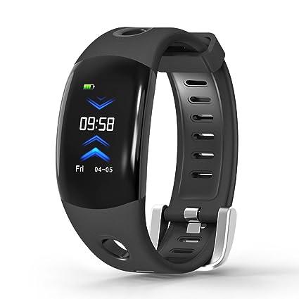 GARDEX Montre Connectée, 3D UI Smart Bracelet avec Moniteur des RH, Podomètre, Moniteur de Sommeil, Appel Rappel.etc, IP68-Noir: Amazon.fr: Sports et ...