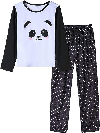 2016 Women Loose Long Sleeve Sleepwear Fashion casual T-shirt Pjs Set