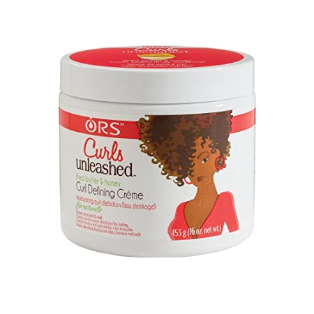 Curls Unleashed Shea Butter and Honey Curl Defining Cr me, 16 oz Pack of 6