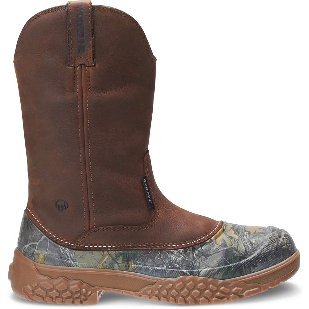 Wolverine Men's Yak Camo 10'' Construction Boot, Real Tree, 10.0 M US by Wolverine