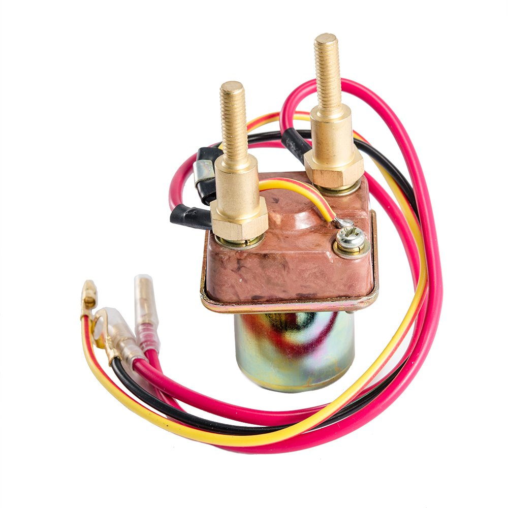 61L243qSQoL._SL1000_ amazon com starter solenoid relay for kawasaki js440 js550 1982 Ford Starter Relay Wiring Diagram at bakdesigns.co