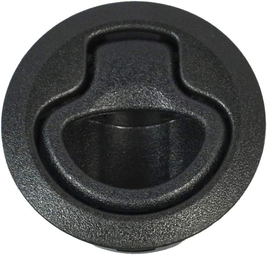 Black Pull To Close Southco Flush Plastic Pull Latch