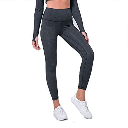 f5a12b8838f227 BCL-Sportswear Womens Tights Yoga Workout Running Leggings With Pockets,  Girl Capris Pants Sports