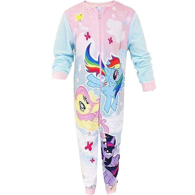 My Little Pony niños niñas Micro forro polar Character Onesie pijamas de pijama PJ de niñas