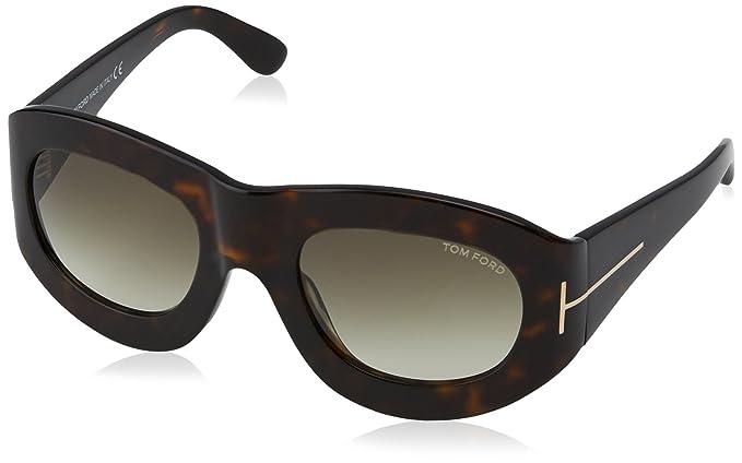 Tom Ford Gafas de Sol Mila (53 mm) Havana: Amazon.es: Ropa y ...