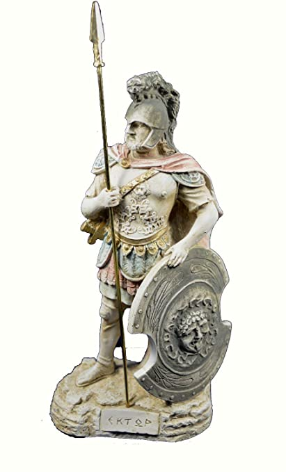 Estia Creations Hector Sculpture Trojan Prince and Greatest Fighter
