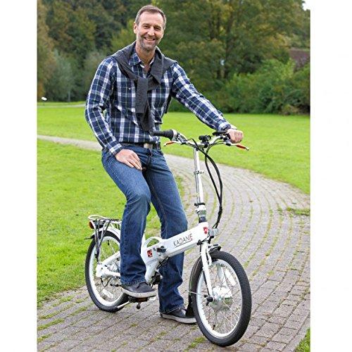 toppedo Saller kadanie eléctrico de bicicleta plegable de aluminio, 1 de marchas, 6,6 Ah, pantalla LED, 20 pulgadas: Amazon.es: Deportes y aire libre