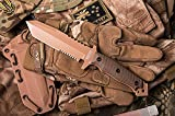 Hardcore Hardware Australia MFK-02G2 Generation 2 Tactical Survival Knife Desert Brown G-10 Tan Teflon Review