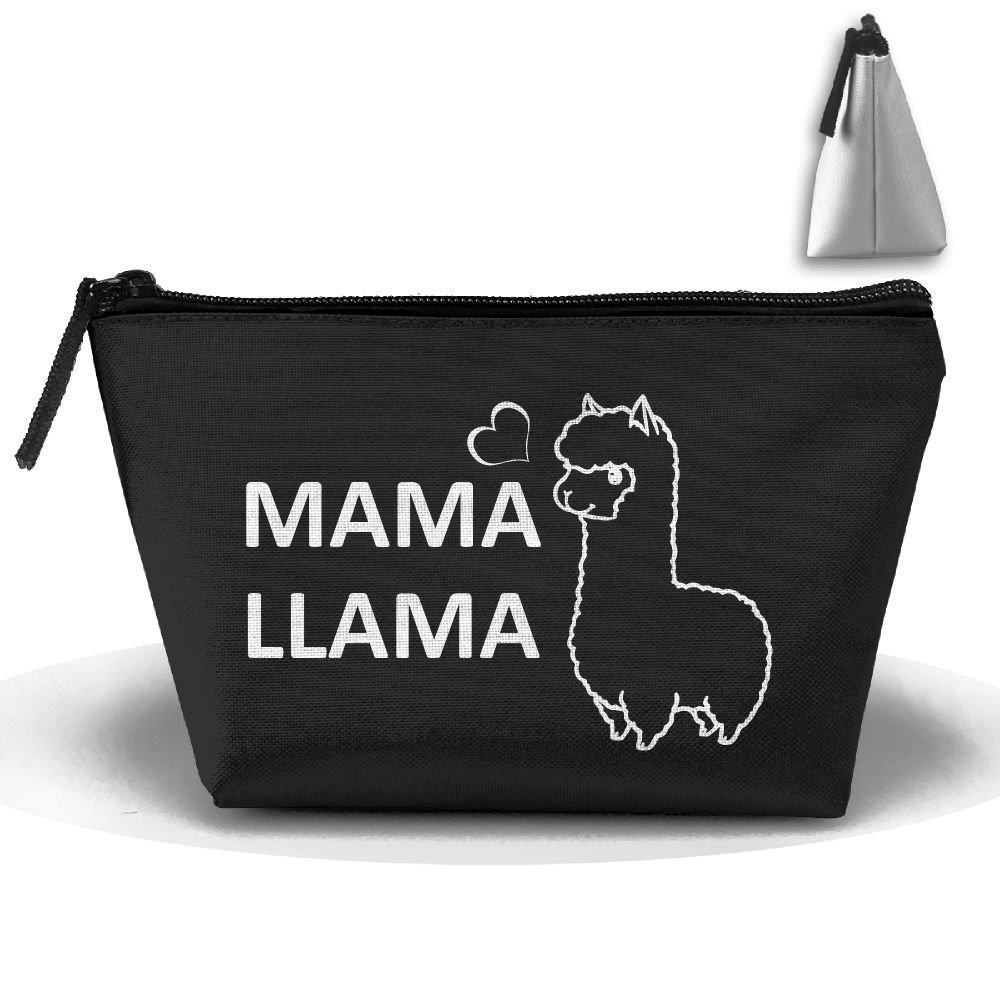 【おトク】 mocstone Mama Llama台形ポータブルポーチコスメティックバッグストレージバッグ mocstone B07CSZ9CCM B07CSZ9CCM, 青島ハンモック:974c58f9 --- arianechie.dominiotemporario.com