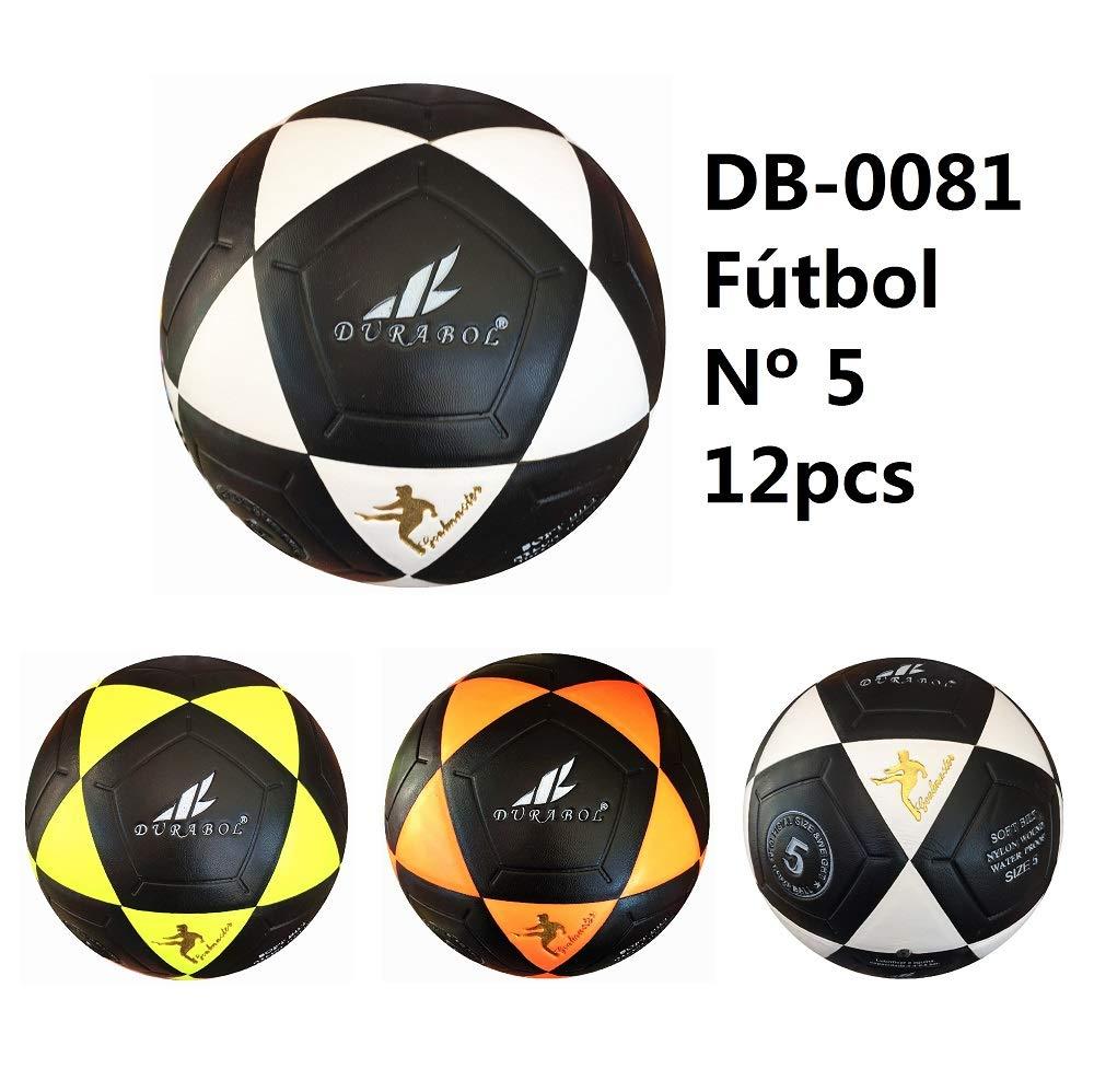 Durabol Balón de fútbol football talla 5 Color Verde Negro DB-0081 ...