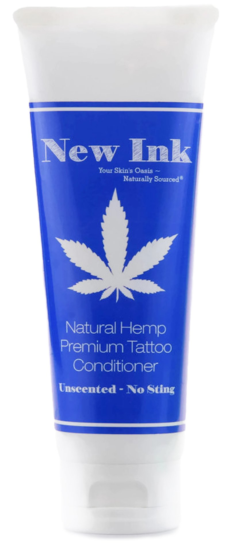 Premium Natural Hemp (Unscented) Tattoo Conditioner Lotion 4 oz. | Before, During & Aftercare – New Ink No Sting – Hemp & Vitamin Infused – No Petroleum – Never Greasy – 100% Vegan – Made in USA
