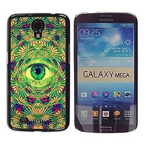 Dragon Case - FOR Samsung Galaxy Mega 6.3 - Pure eyes light - Caja protectora de pl??stico duro de la cubierta Dise?¡Ào Slim Fit