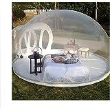 wly home aufblasbares blasen zelt haus familien camping hinterhof transparente luft hauben. Black Bedroom Furniture Sets. Home Design Ideas