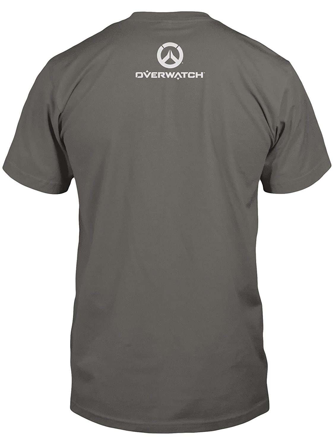 6e87e6b9a Amazon.com: JINX Overwatch Men's Get to The Objective Tee Shirt: Clothing