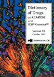 Dictionary Of Drugs on CD-ROM