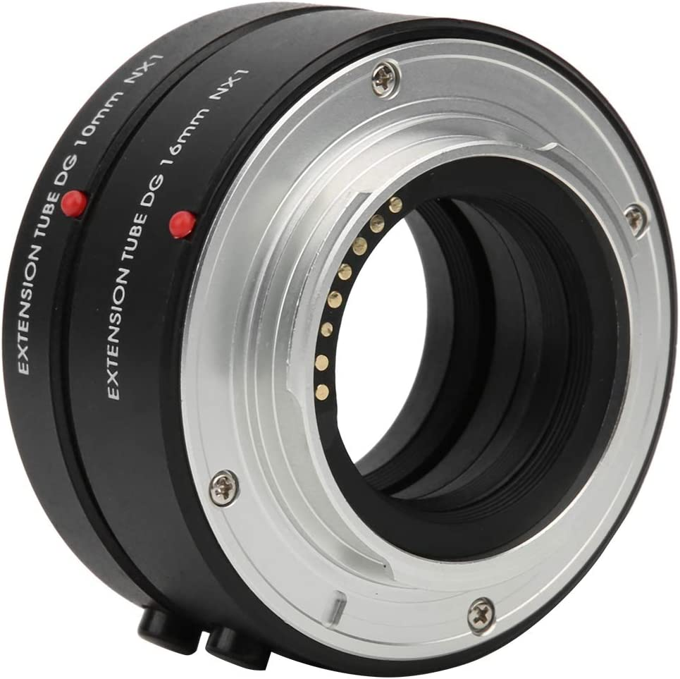 Vbestlife NX1 Lens Adapter Ring Auto Focus Macro Extension Tube Adapter Ring 10mm+16mm for Samsung NX Mount Camera