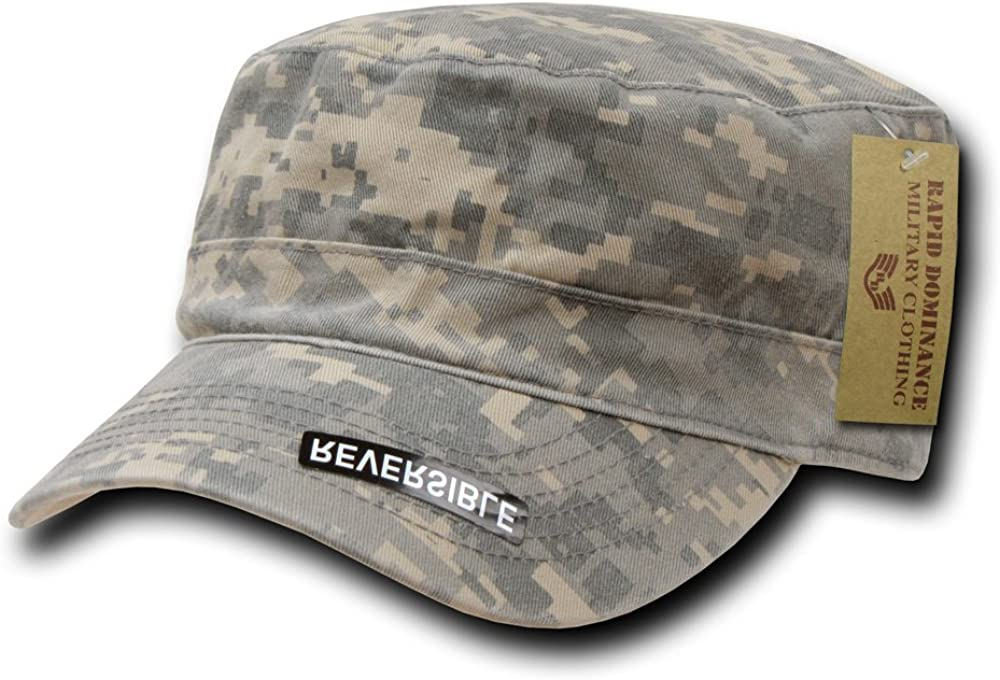 Rapiddominance Reversible Flat Top Cap, Universal Digital: Clothing
