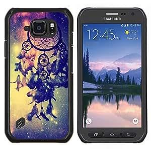 Stuss Case / Funda Carcasa protectora - Catcher Azul Espacio Vía Láctea india - Samsung Galaxy S6 Active G890A