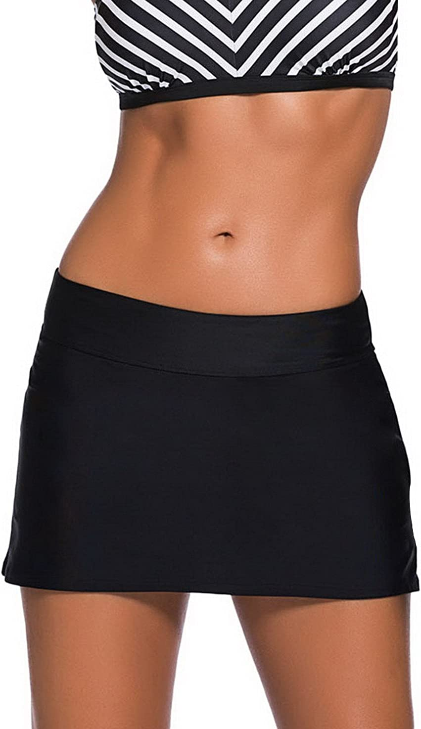 La vogue Falda Pantalón de Deporte Corto Natación para Mujer Tenis ...