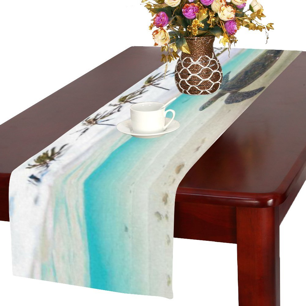 Kess InHouse Rachel Burbee Life is Beautiful Table Runner