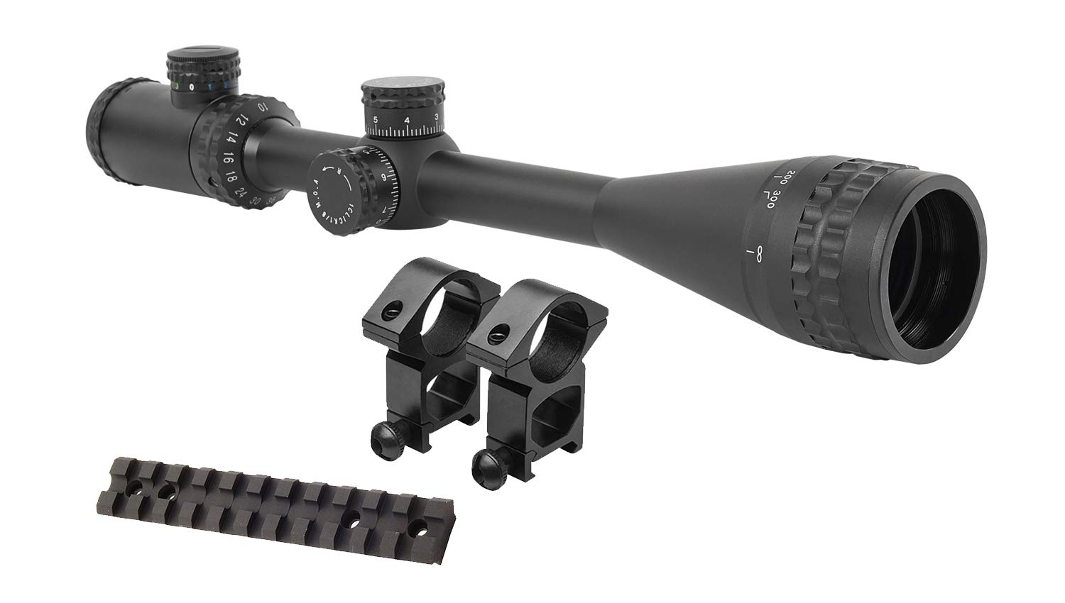 M1SURPLUS Presents This Tactical Kit for Ruger 10 22 Rifles – Includes A Hi-Power 8-32×50 Illuminated Rifle Scope Sun Shade Flip-Up Lens Covers Scope Rings Scope Mount Rail