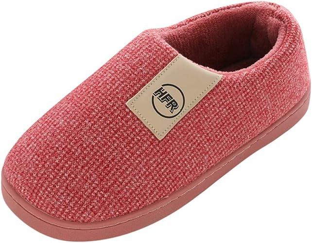 Zapatillas Algodón de Estar por casa para Mujer TOPKEAL Cómodas ...