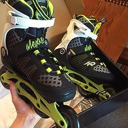Amazon Com Customer Reviews K2 Skate Women S Alexis Boa Inline Skates Lime Black 6 5