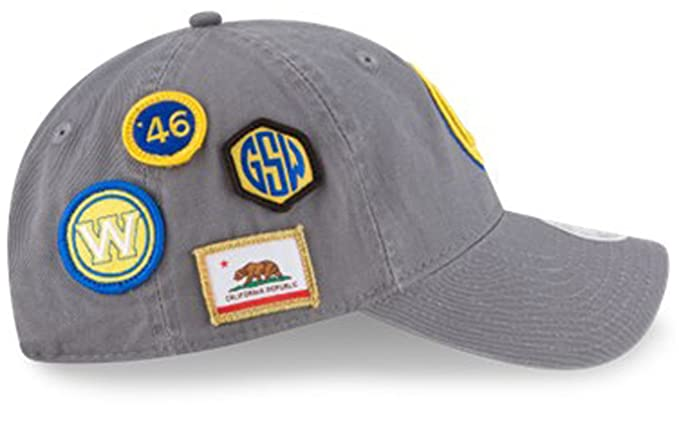 4ceb7af923ffd Image Unavailable. Image not available for. Color  New Era Authentic Golden  State Warriors Women s 2018 Draft 9TWENTY Adjustable Hat ...
