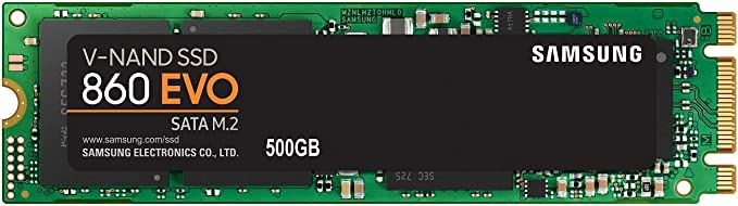 Samsung 860 EVO SSD 500GB  M2 SATA Internal Solid State Drive with VNAND Technology MZN6E500BW at Kapruka Online for specialGifts