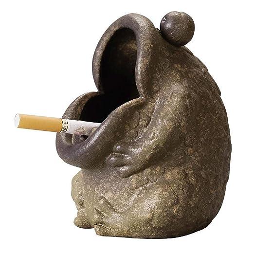 Cenicero Cerámica sapo cenicero, encendedor de cigarrillos ...