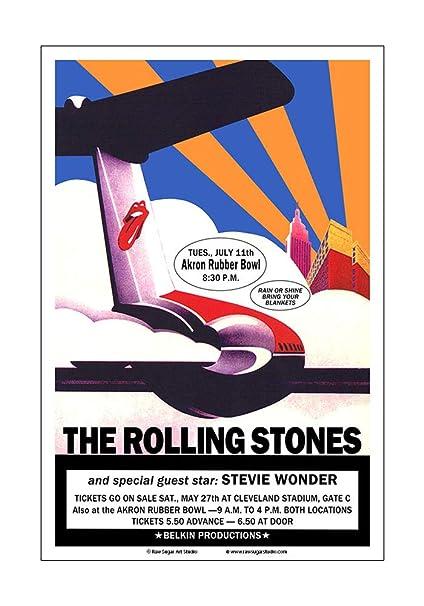 Amazon com: Raw Sugar Art Studio Rolling Stones/Stevie