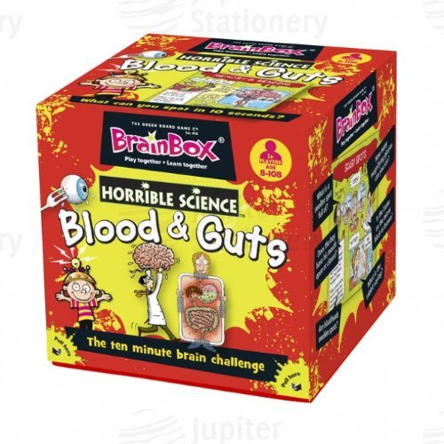 BrainBox Horrible Science Blood and Guts Memory Challenge Game by Brainbox