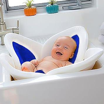 YUAKOU Small Newborn Baby Bath Flower Bath Tub For Baby Sink