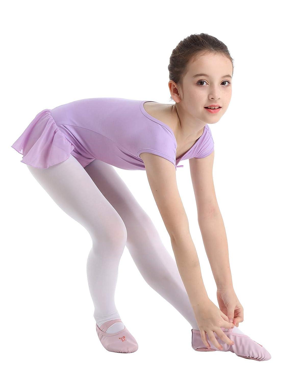 Freebily Kids Girls Leopard Print Tank Leotard Athletic Sports Tops for Gymnastics Biketard Dancing or Swimming
