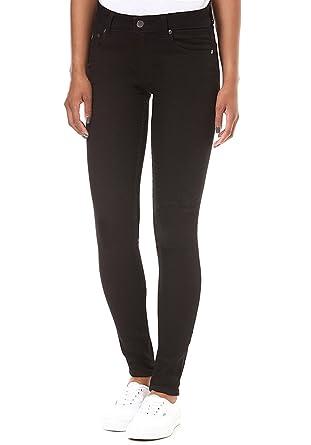 Low Skin - Pure Black Girl-Jeans schwarz Cheap Monday YR7n8j