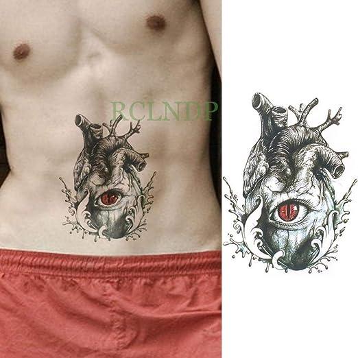 Modeganqing 5 Piezas Impermeable Tatuaje Pegatina Ancla Tatuaje de ...